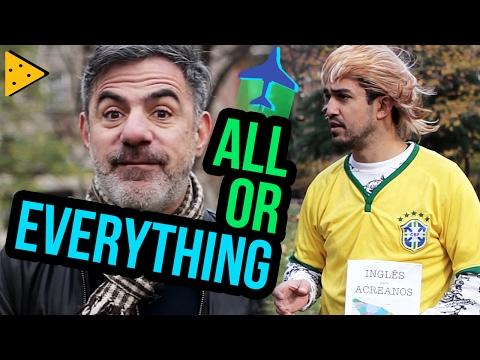 """DICA DE INGLÊS: DIFERENÇA ENTRE """"ALL"""" E """"EVERYTHING"""""""