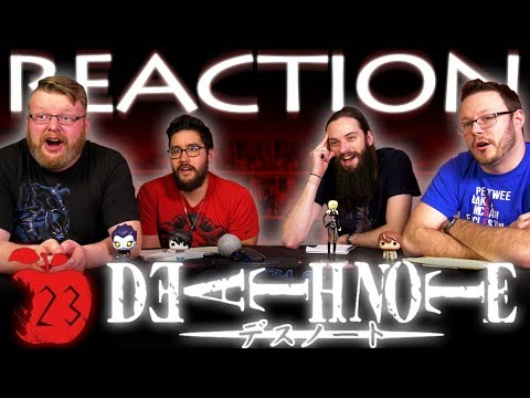 """Death Note Episode 23 REACTION!! """"Frenzy"""""""
