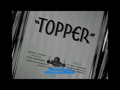 Topper (1937) title sequence