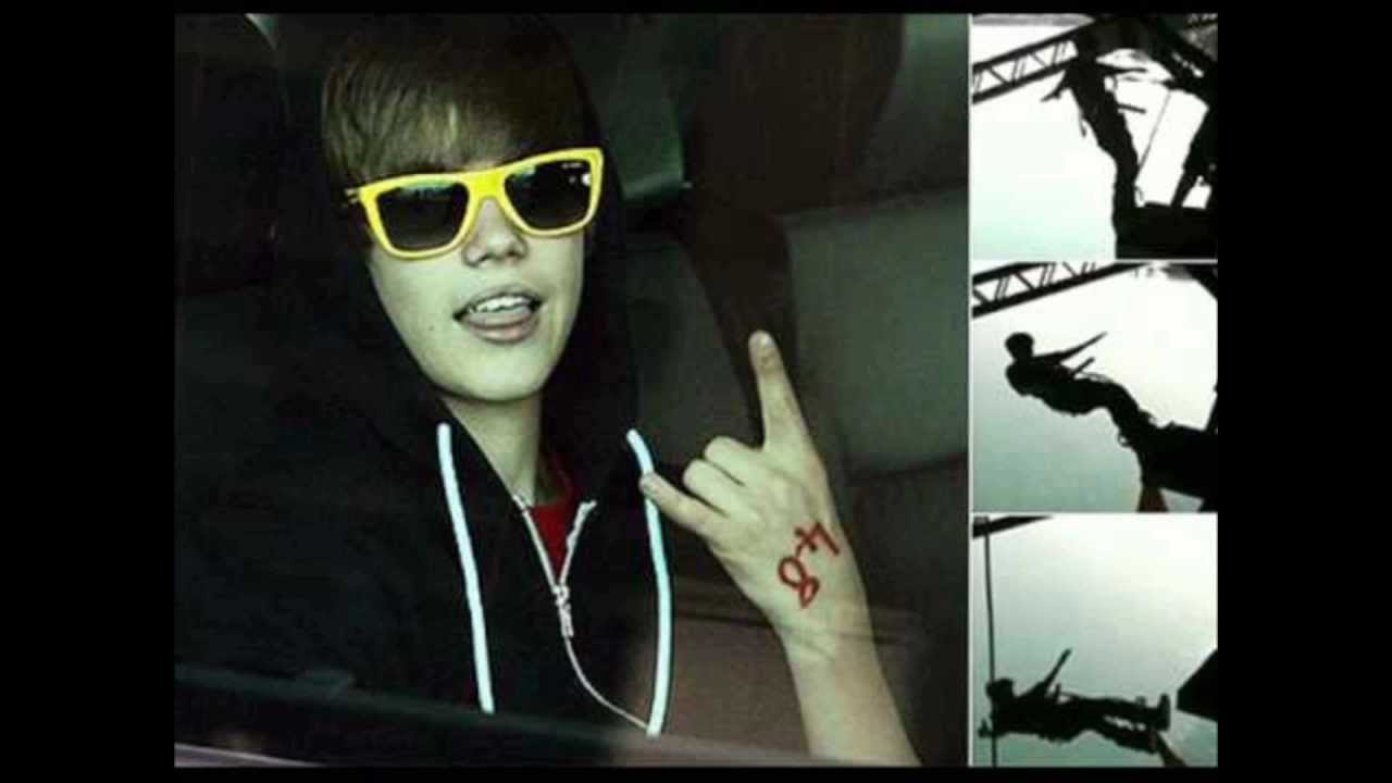 Justin Bieber Illuminati Signs And Symbols Youtube