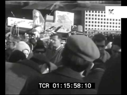 1960s Petticoat Lane Market, East End of London Home Movies