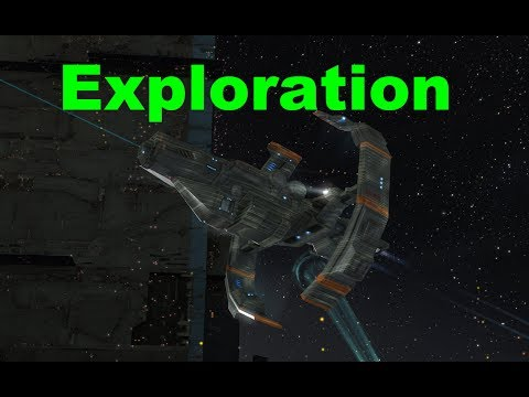 Null Exploration - EVE Online Live Presented in 4k