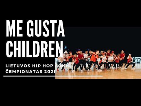 Gatvės šokiai vaikams | Me Gusta Children | Lietuvos Hip Hop čempionatas 2021