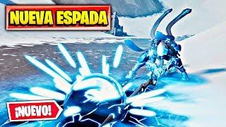 GANANDO SOLO con la NUEVA ESPADA LEGENDARIA! FORTNITE: Battle Royale | NUEVA ARMA