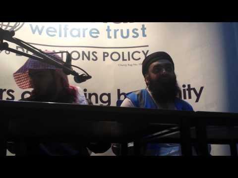 Islamic nasheed artist at yma Sheffield pt1