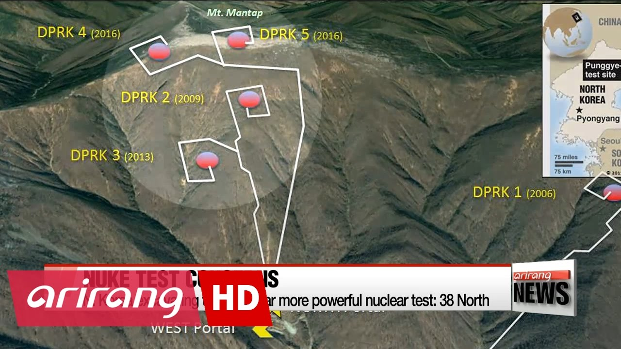N korea excavating tunnel for far more powerful nuclear for Bureau 38 north korea
