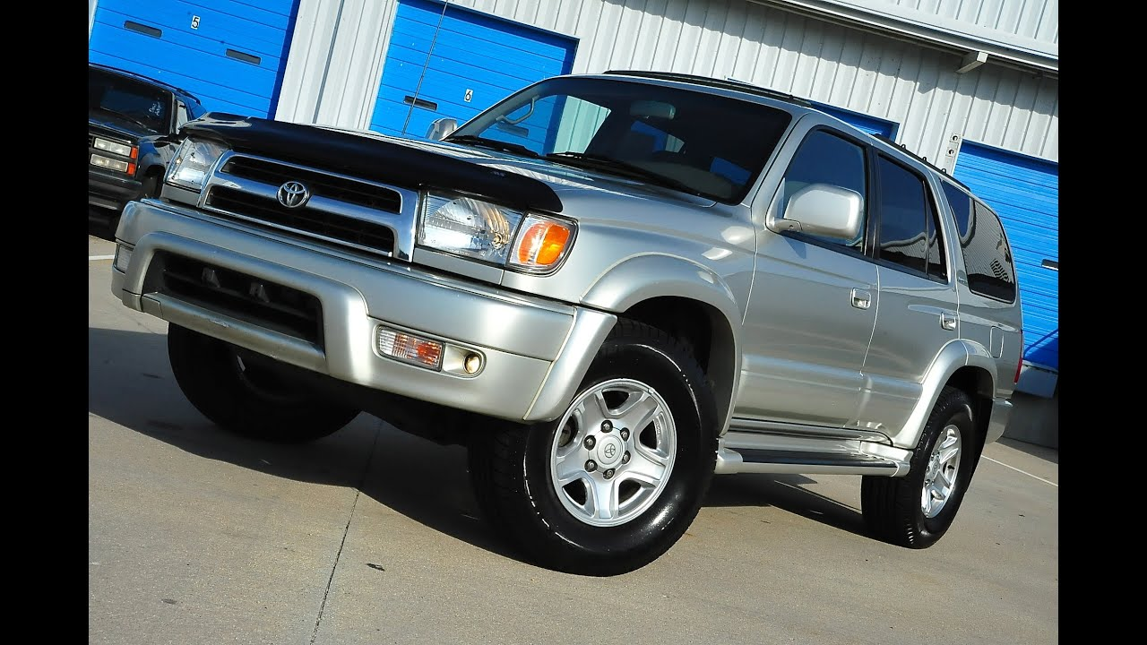 Beautiful Davis AutoSports 2000 Toyota 4Runner Limited 4x4 For Sale
