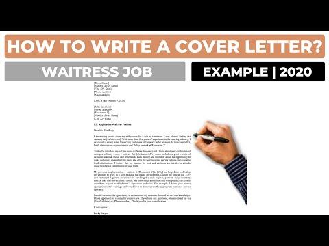 Cover Letter For A Restaurant