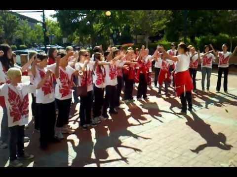 Canadian Middle School Choir at Arizmendi Bakery