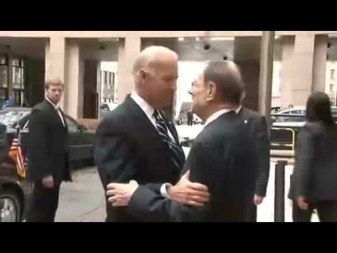 With US Vice-President Joe Biden