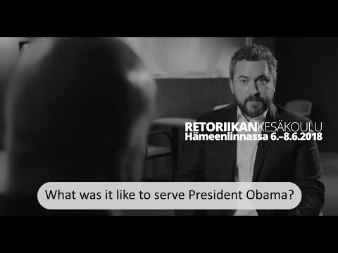 What Was It Like to Serve President Obama?