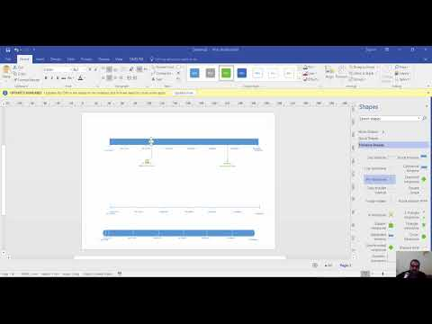 visio timeline - YouTube