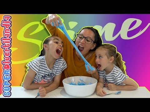 SLIME COMESTIBLE! Como hacer slime que se puede comer!