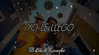 J. Balvin - Yo Le Llego (Letra / Karaoke) ft. Bad Bunny