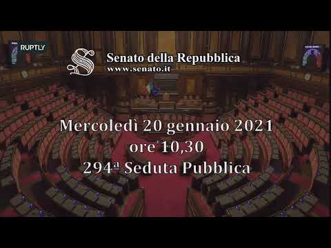 LIVE: Italian PM Conte faces key confidence vote at Senate
