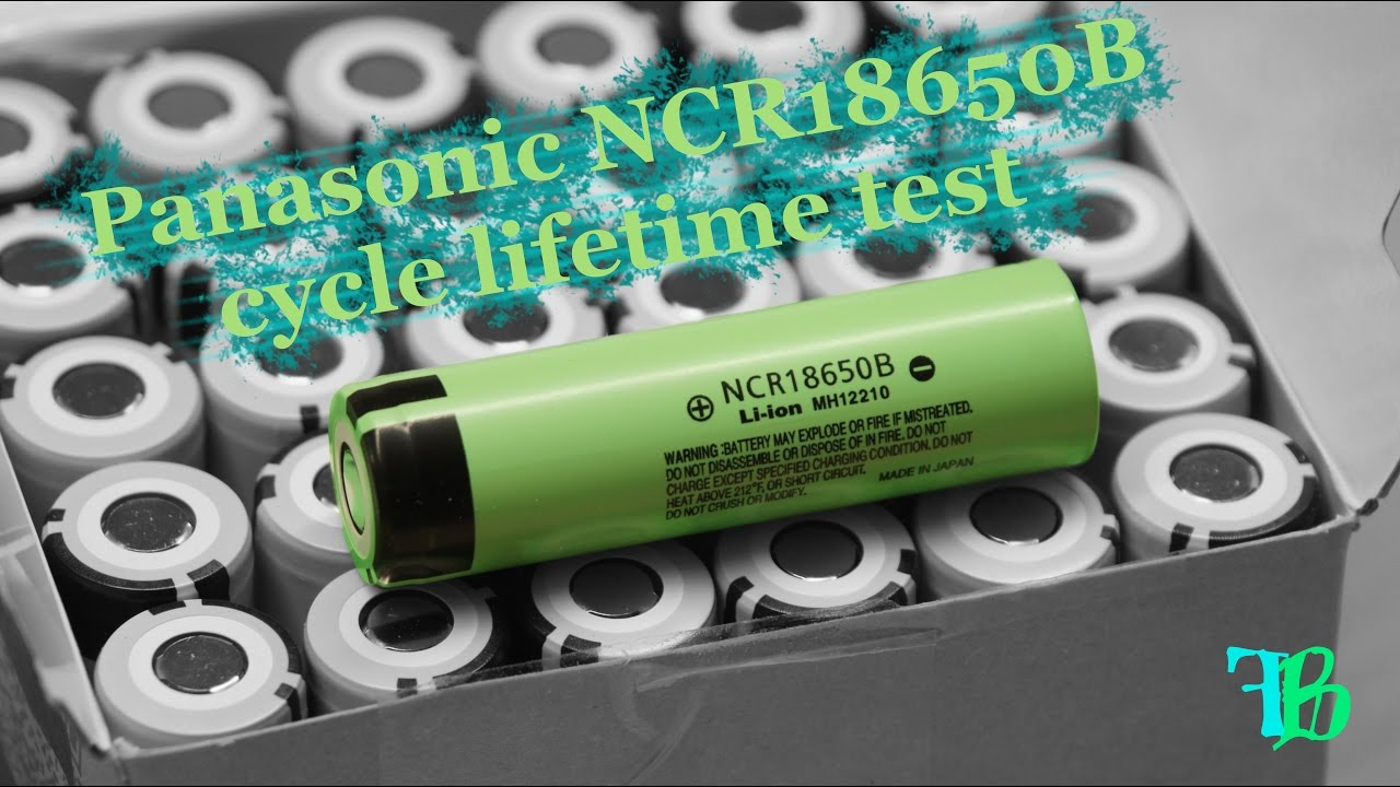 Tesla Li Ion Cycle Lifetime Test Panasonic Ncr18650b