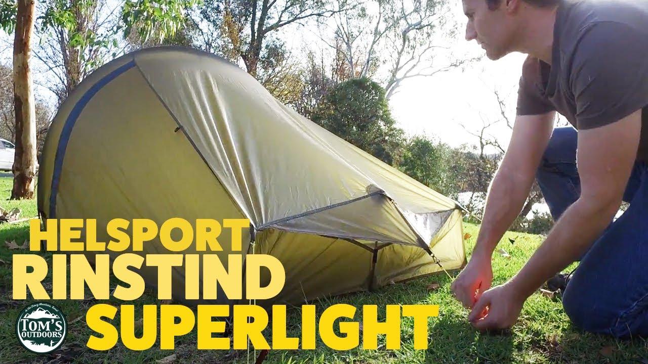 Helsport  Ringstind Superlight  tent - Tomu0027s Outdoors NSW Australia  sc 1 st  YouTube & Helsport