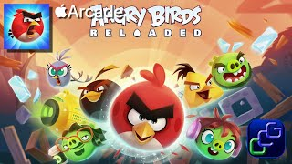 Angry Birds Reloaded Apple Arcade Gameplay