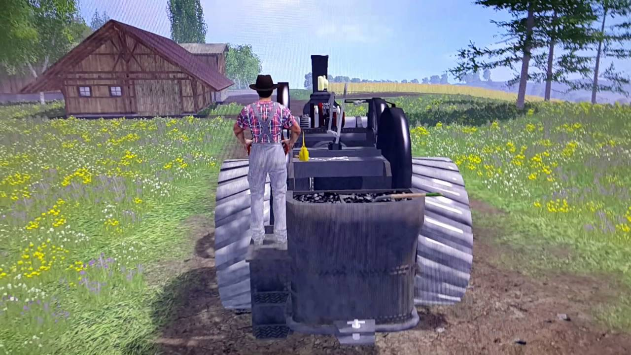 farming simulator 15 tr s vieux tracteur youtube. Black Bedroom Furniture Sets. Home Design Ideas