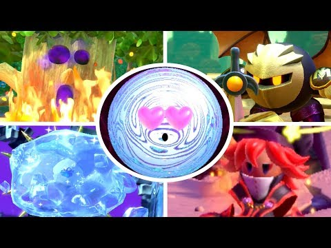 Kirby Star Allies - All Boss Secrets & Easter Eggs