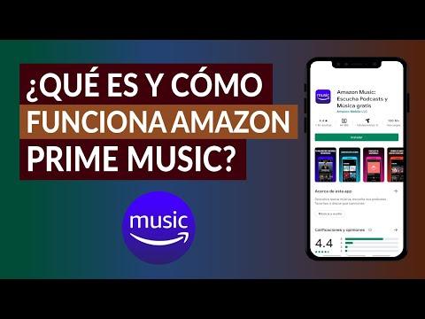 ¿Qué es y Cómo Funciona Amazon Prime Music? La Plataforma de Música Online de Amazon