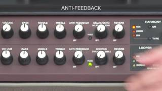 Acoustic Singer Quick Start chapter 3: Using Anti-Feedback