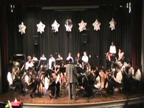 Alexander Hamilton Junior Senior High School winter 2009 concert  symphony no. 40 in G minor.mov