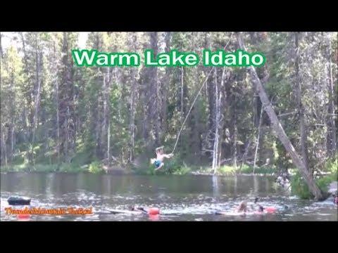 Swimming At Warm Lake Idaho - A Great Family Summer Adventure!!