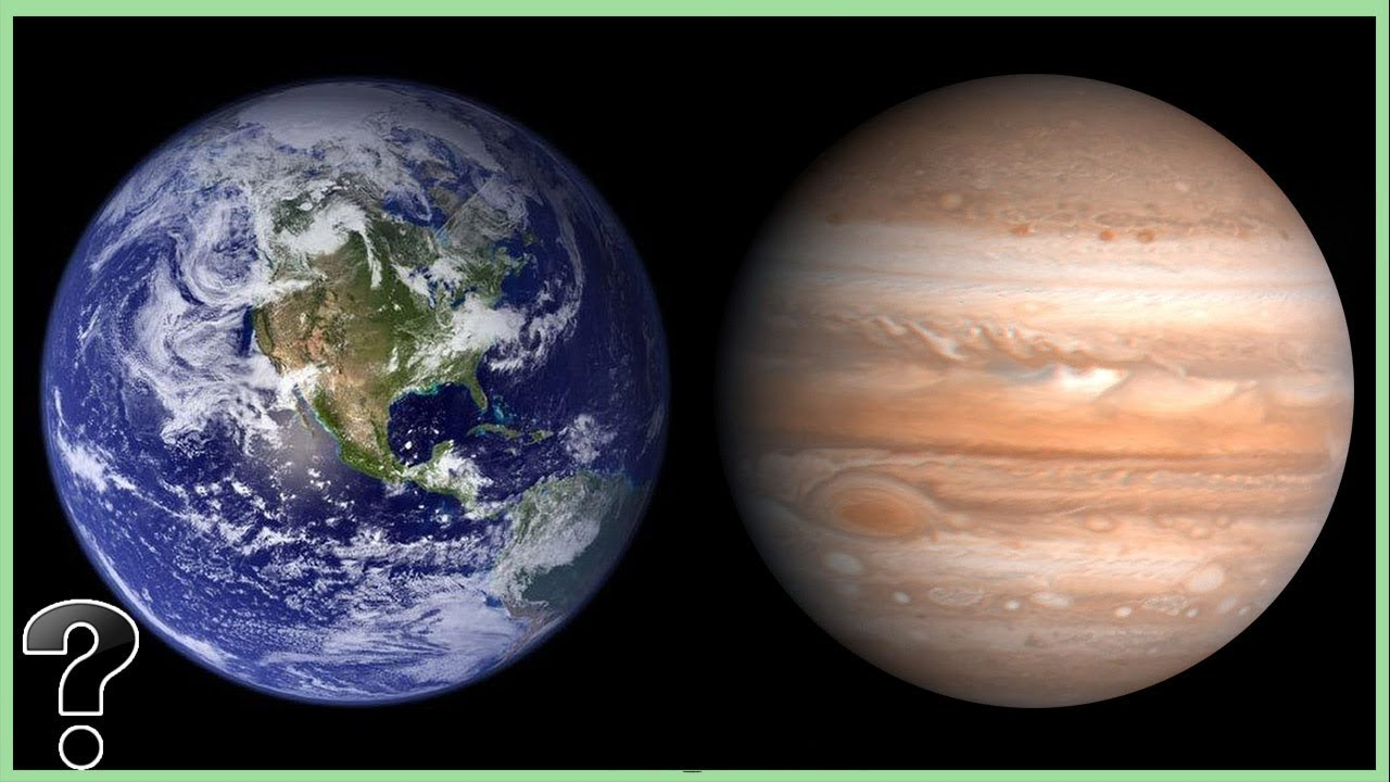 What If Earth Was The Size Of Jupiter? - YouTube