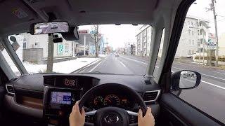 【Test Drive】 2016 New Daihatsu THOR - POV City Drive