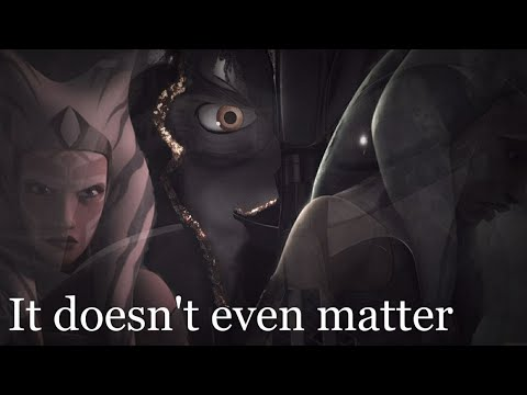Ahsoka & Anakin || It Doesn't Even Matter||