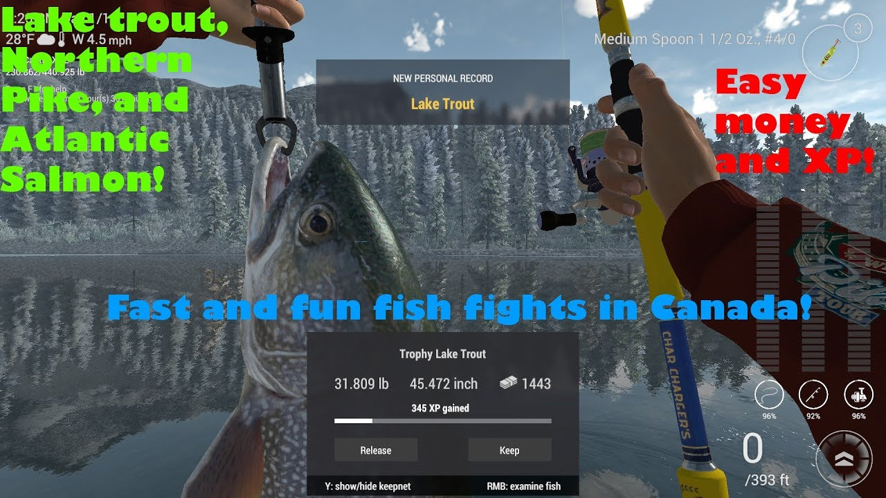 Fishing Planet Guide - Making Fast Money and XP in Alberta Canada!