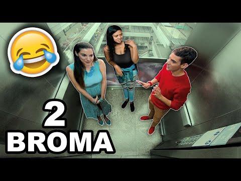 🎵TONOS de llamada GRACIOSOS en el ascensor en el ASCENSOR 2 | Bromas en el ascensor
