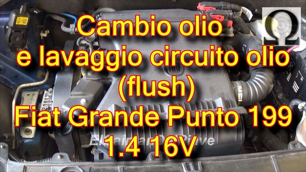 tutorial cambio olio motore e flush circuito olio fiat. Black Bedroom Furniture Sets. Home Design Ideas