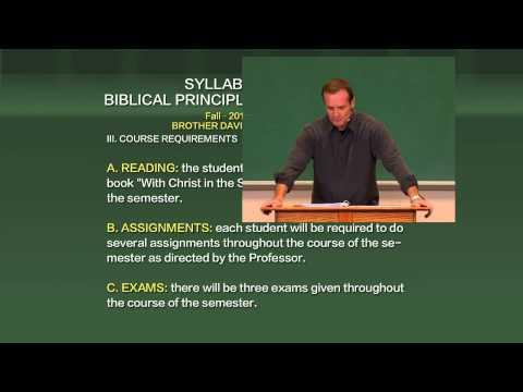 WEBC Biblical principals of prayer