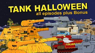 Tank Halloween all episodes plus Bonus - Cartoons about tanks
