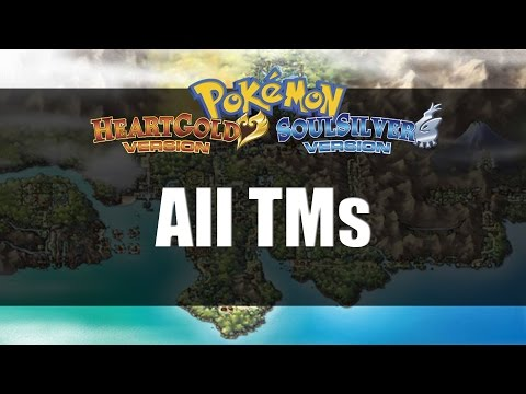 Pokemon Heart Gold & Soul Silver | All TM Locations