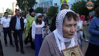 Крестный ход в Лунево ко Дню обретения мощей Сергия Радонежского