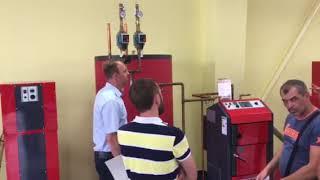 Обучение по котлам на заводе Atmos (Чехия)