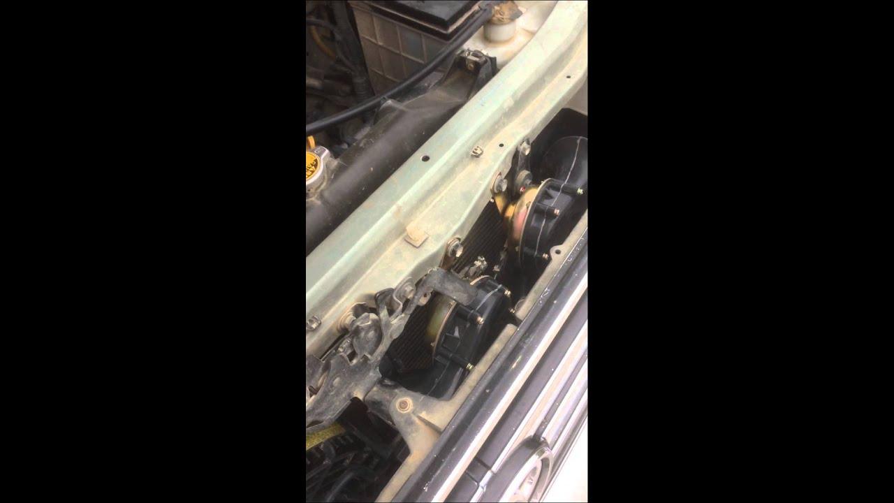 """Звуковой сигнал от """"Волги"""" на Toyota Land Cruiser Prado 95"""