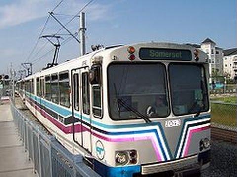 Calgary South C Train Lrt 201 Somerset Victoria Park