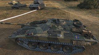 WoT Strv S1 349K CREDITS !!! - Fiery Salient