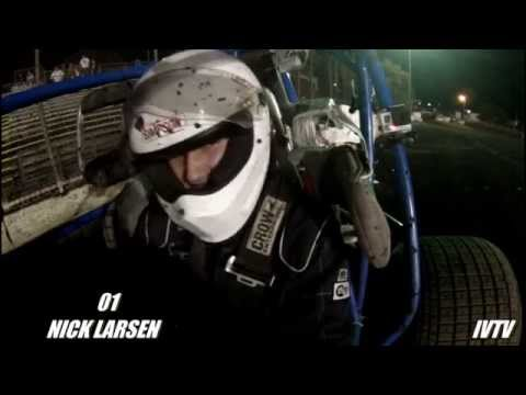 LARSEN HARD HEAD ON CRASH TEST SOFT WALL AT SILVER DOLLAR TYLER WOLF MEMORIAL