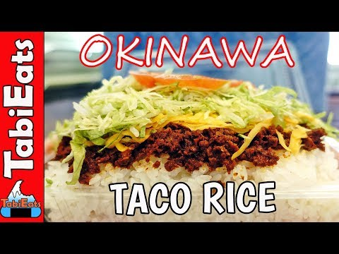 Japan's Answer to Taco Bell (KING TACOS in OKINAWA)