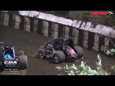 AMSOIL USAC/CRA Sprint Cars at Ventura Raceway 5-9-15