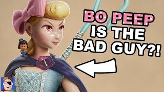 Bo Peep Is The Villain In Toy Story 4? | Pixar Theory