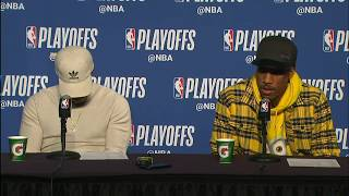 Kyle Lowry & DeMar Derozan Postgame Interview | Raptors vs Cavaliers Game 4