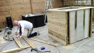 DIY : HOW TO BUILD A HOT TUB