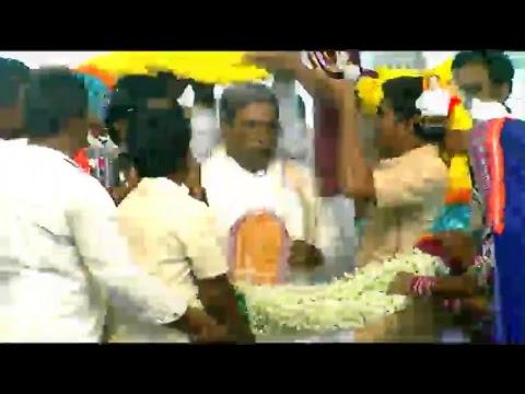 Hon'ble CM's State tour at Gangavati, Koppal - Dec 14th, 2017