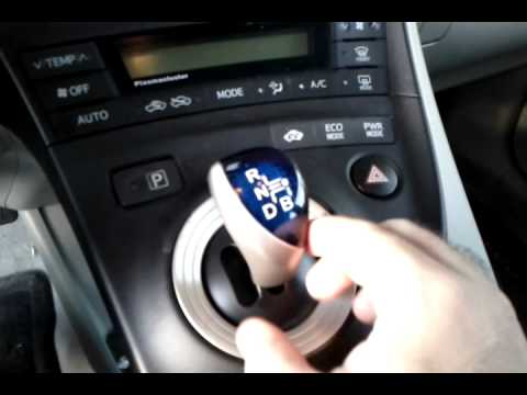 Gear Shifter In 2010 Prius Sticking